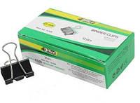 Биндер 4Office 25мм 12шт/уп черные 4-328