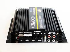 Автомобільний підсилювач звуку Kenwood MRV-F6004X/5S 2500W 4-х канальний Bluetooth, фото 2