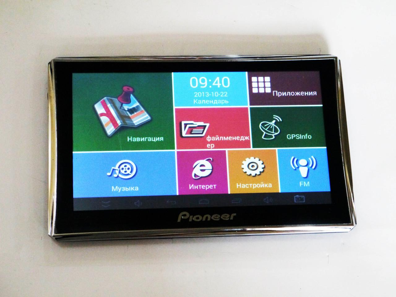 7'' Планшет Pioneer M716 - GPS+ 4Ядра+ 8Gb+ Android4