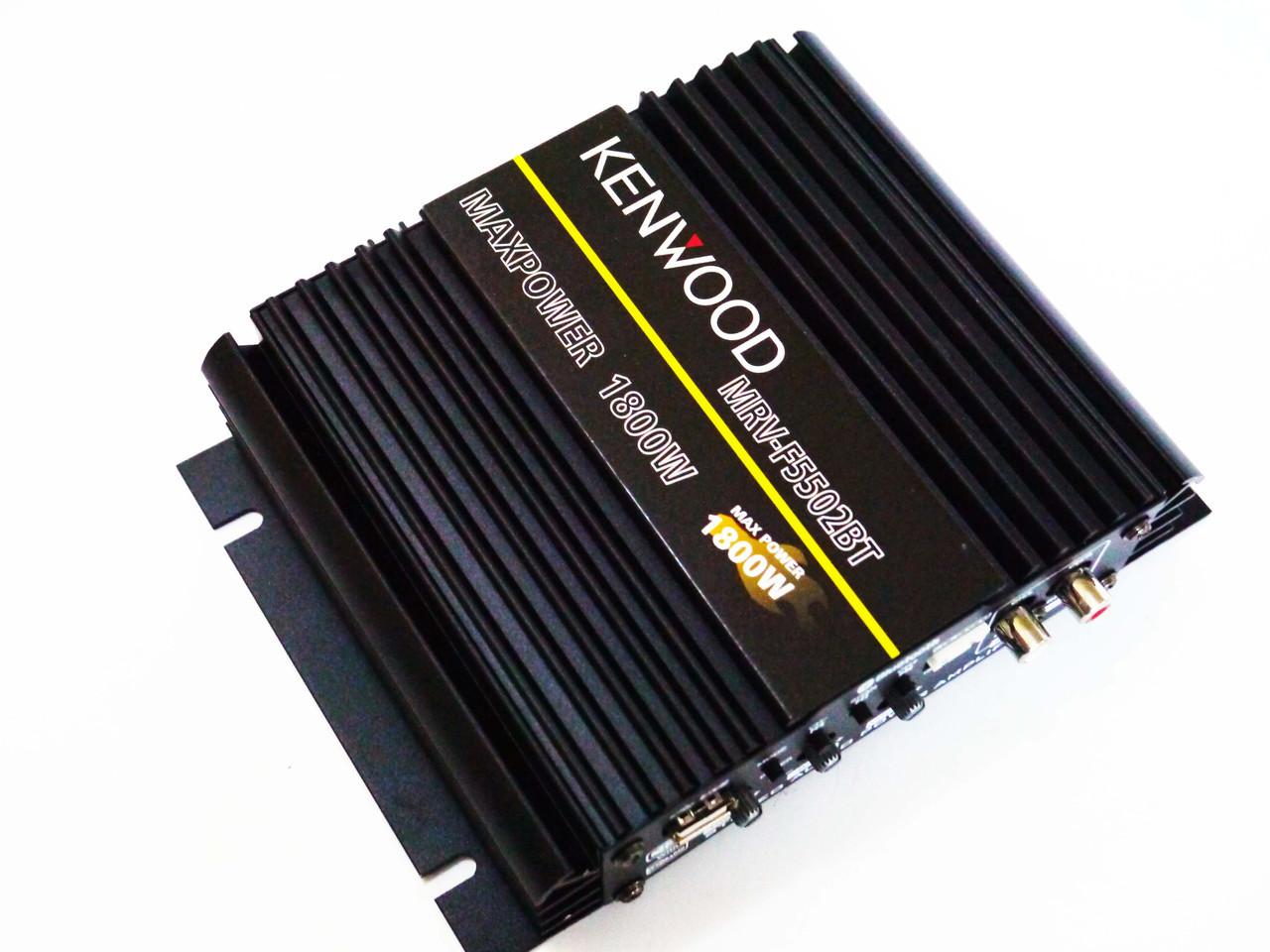 Автомобільний підсилювач звуку Kenwood MRV-F5502BT 1800W 2-х канальний Bluetooth