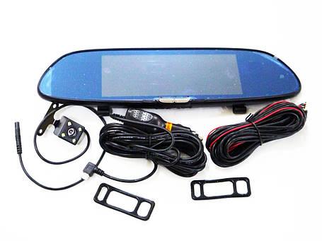 """DVR H10 Full HD 7"""" сенсорный экран. Зеркало заднего вида с видео регистратором, фото 2"""