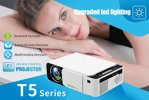Мультимедийный WiFi Проектор Full HD. T5