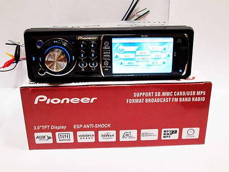 Автомагнитола Pioneer 3012А Video экран LCD 3'' USB+SD, фото 2