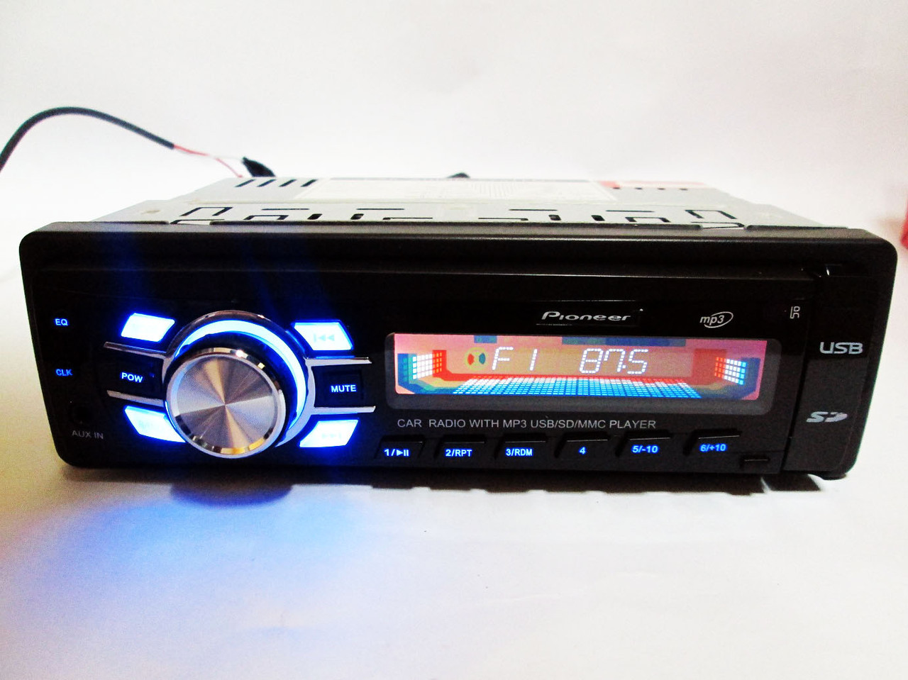 Автомагнитола Pioneer 3600U Usb+Sd+Fm+Aux+ пульт