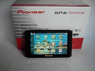 "5"" GPS навигатор Pioneer HD - 4Gb+AV-in+BT+FMT, фото 2"