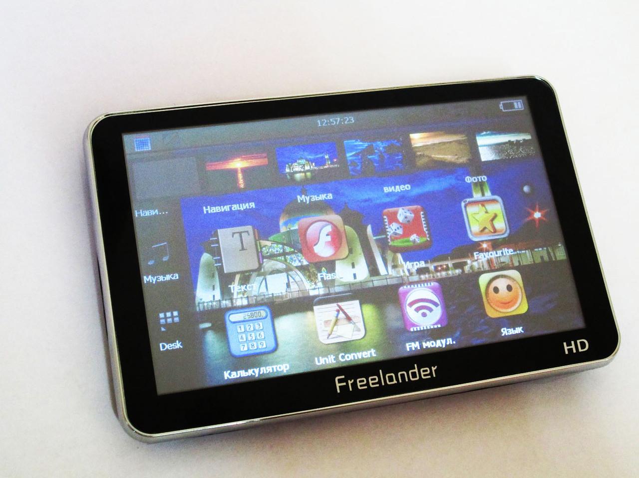 "5"" GPS навигатор Freelander 5033 HD 4Gb + FM"