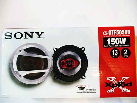Sony XS-GTF5058B (150Вт) двухполосные, фото 2