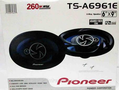 Pioneer TS-A6961E (260Вт) трехполосные, фото 2