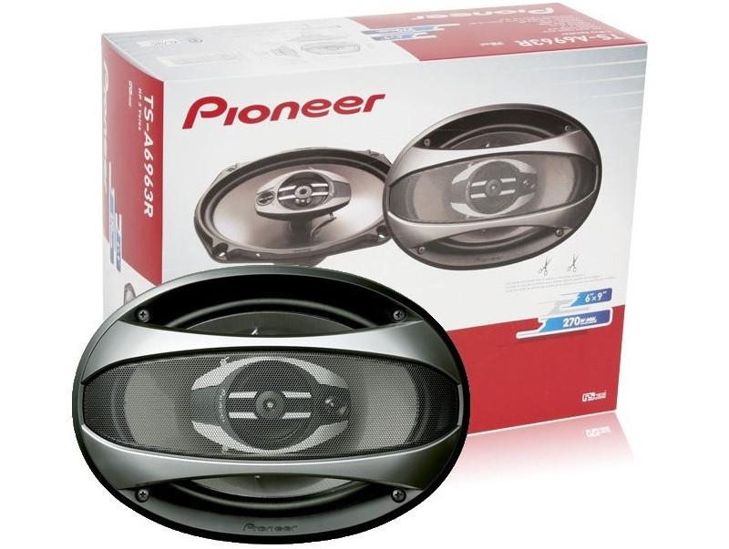 Pioneer TS-A6963Е (300Вт) треххполосные динамики