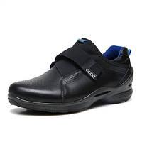 Мужские кожаные кроссовки кеды ECCO Biom Fjuel M, чёрный. Размер 40-42, фото 1