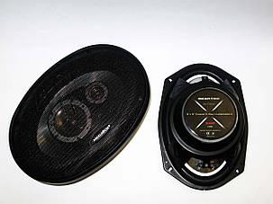 MEGAVOX MGT-9836 6x9 овалы (500W) трехполосные, фото 2