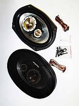 MEGAVOX MGT-9836 6x9 овалы (500W) трехполосные, фото 3