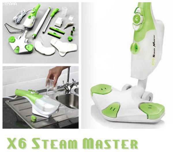 Steam Master H2O Mop X6 Парова швабра