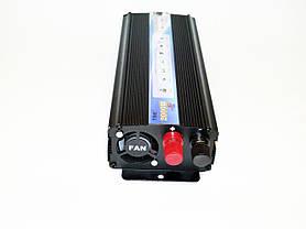 Преобразователь авто инвертор 12V-220V 2000W, фото 3