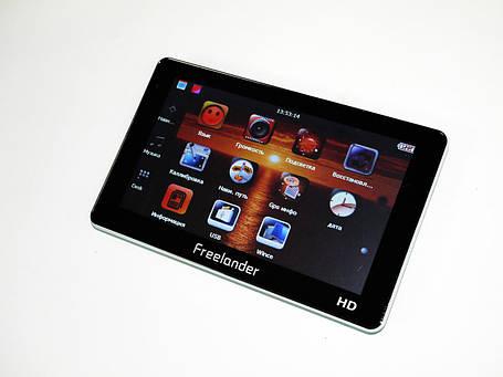 """7"""" GPS Навигатор Freelander G712 BT 4GB + AV-in + FM, фото 2"""