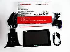 """7"""" GPS навигатор Pioneer  PI-721A 600MHz+4Gb+AV-in+BT, фото 2"""