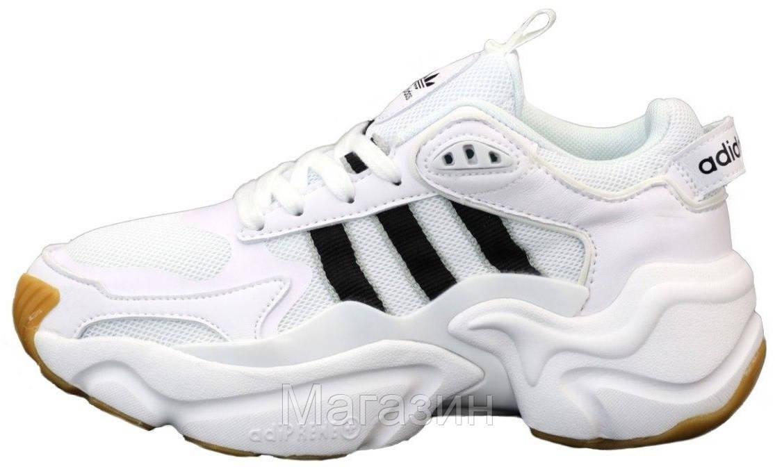 Мужские кроссовки adidas Magmur Runner White Aдидас белые