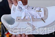 Мужские кроссовки Sacai x Nike LDV Waffle White (Найк) белые, фото 3