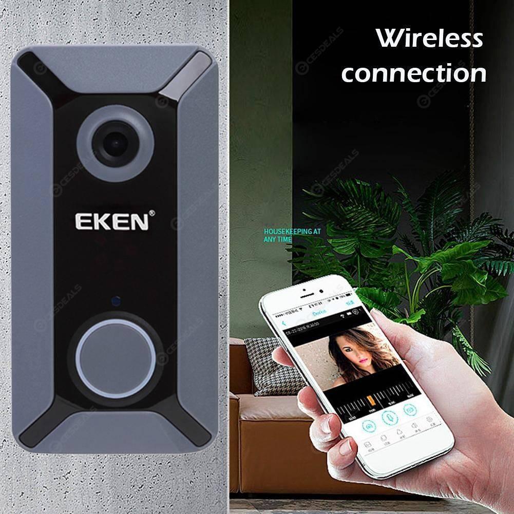 Eken V6 Smart WiFi Doorbell Умный дверной звонок с камерой Wi-Fi