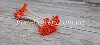 Тайские тычинки персиковы, каплевидные