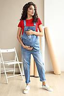 Джинсовый комбинезон для беременных 4232420