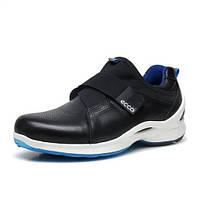 Мужские кожаные кроссовки кеды ECCO Biom Fjuel M, чёрный. Размер 40-43, фото 1