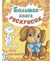 Большая книга раскрасок Для малышей Ранок