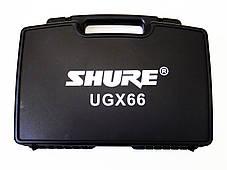 Радиосистема Shure UGX66 база 2 радиомикрофона, фото 3