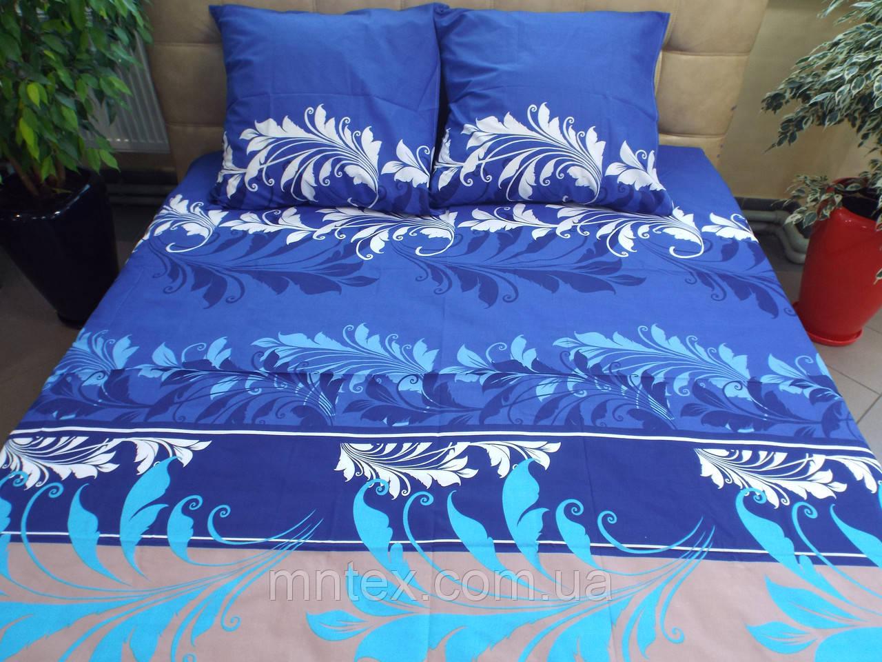 Комплект постельного белья бязь Голд Мечта (синий)