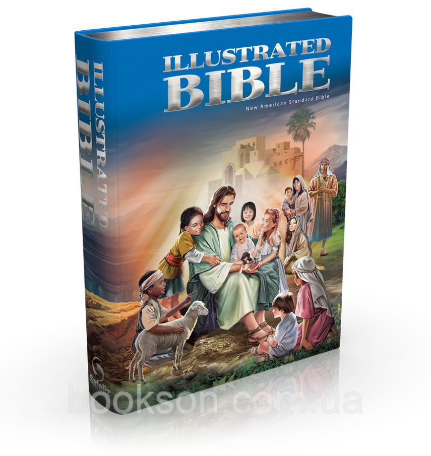 Illustrated Bible (Ілюстрована Біблія англійською мовою)