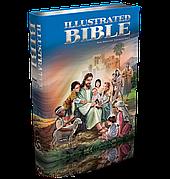 Illustrated Bible (Ілюстрована Біблія англійською мовою, срібло)