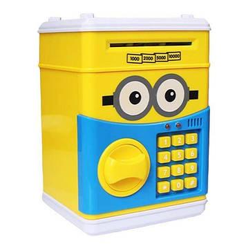 Сейф - игрушка с кодом (Minions)