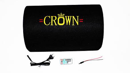 "10"" Активный сабвуфер бочка CROWN 350W + Bluetooth, фото 2"