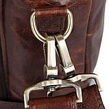 Сумка чоловіча Vintage 14590 Коричнева шкіряна, фото 10