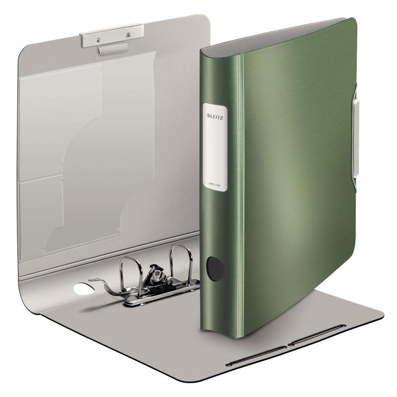 Папка-регистратор Leitz Active Style 180°, 60мм, зеленый, арт. 11090053