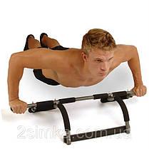 Power Trainer Pro Турнік в дверний проріз тренажер, фото 3