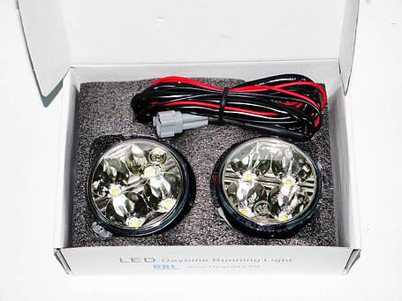Дневные Ходовые Огни DRL4 LED диода Круглые, фото 2