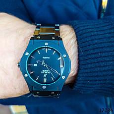 Часы мужские. Мужские наручные часы черные. Часы с черным циферблатом Годинник чоловічий, фото 3