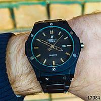 Часы мужские. Мужские наручные часы черные. Часы с черным циферблатом Годинник чоловічий