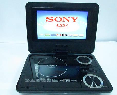 """7,6"""" Портативный DVD плеер Sony SX737 TV+USB+SD, фото 2"""