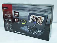 """7,6"""" Портативный DVD плеер Sony SX737 TV+USB+SD, фото 3"""