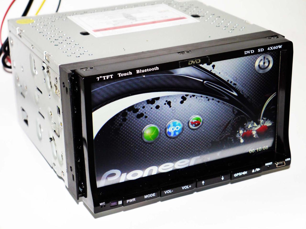 2din Магнитола Pioneer DA972 7'+GPS+DVD+USB+TV+Bluetoth