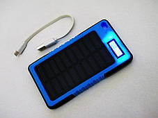 Сонячна батарея зарядка Power Bank 20000mAh LCD, фото 2