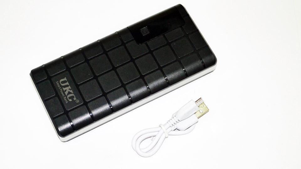Power Bank UKC 18000 mAh 3xUSB LCD