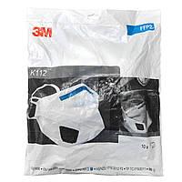 Респіратор маска 3M™ K112 (FFP2) висока фільтрація 10 штук в упаковці (коронавирусна)