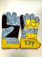 Перчатки комбинированные монтажные усиленные