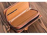 Клатч-барсетка чоловічий шкіряний Vintage 14722 Світло-коричневий, фото 4