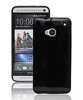 Чехол силиконовый Epik для HTC One M7 801e Black
