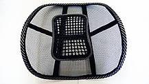 Ортопедична подушка (підставка) під спину на крісло, фото 3