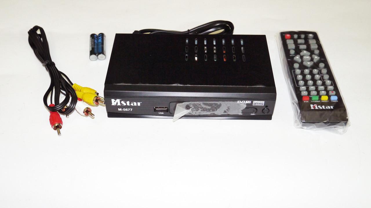 Mstar M-5677 Внешний тюнер DVB-T2 USB+HDMI
